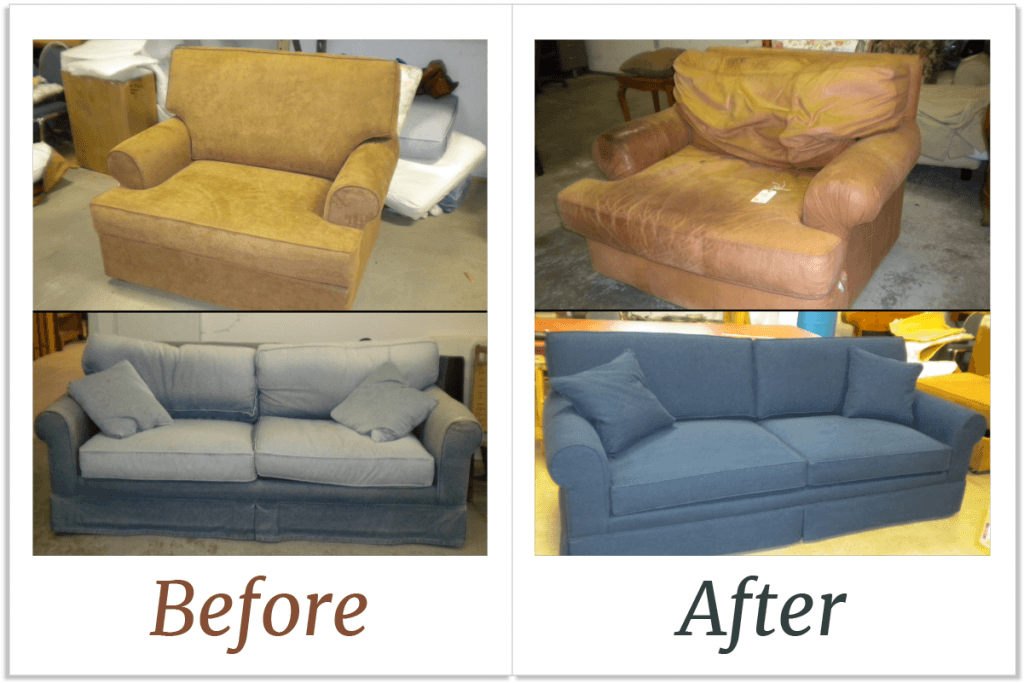 Sofa And Chair Rejuvenation Furniture, Ethan Allen Furniture Repair
