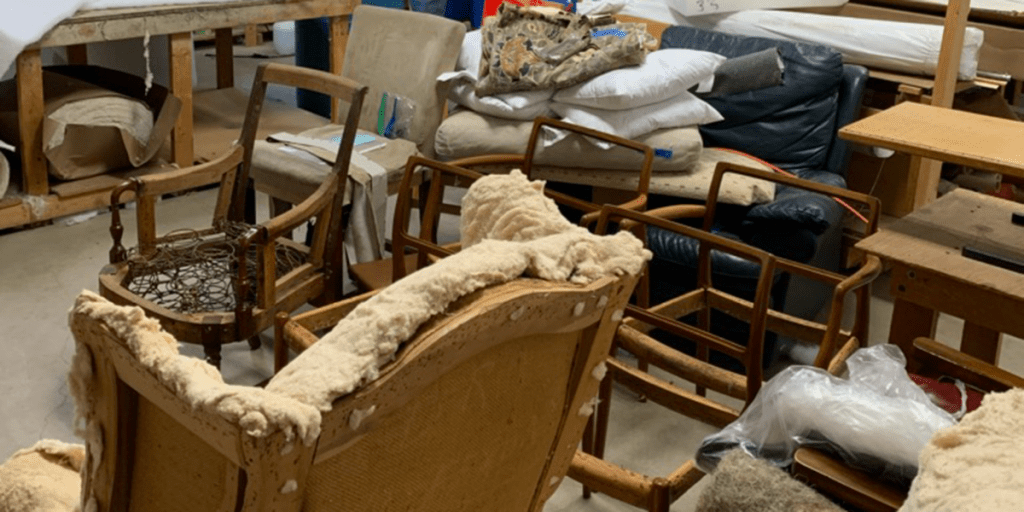 restoring secondhand furniture